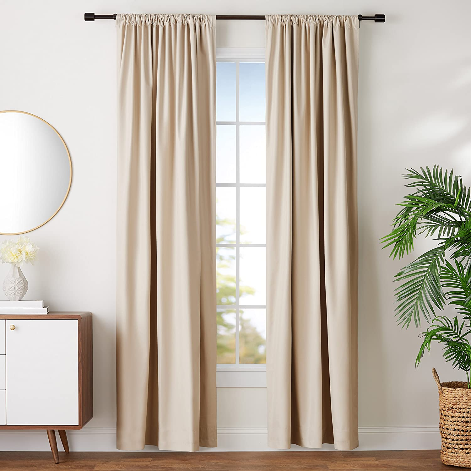 Neutral Blackout Curtains