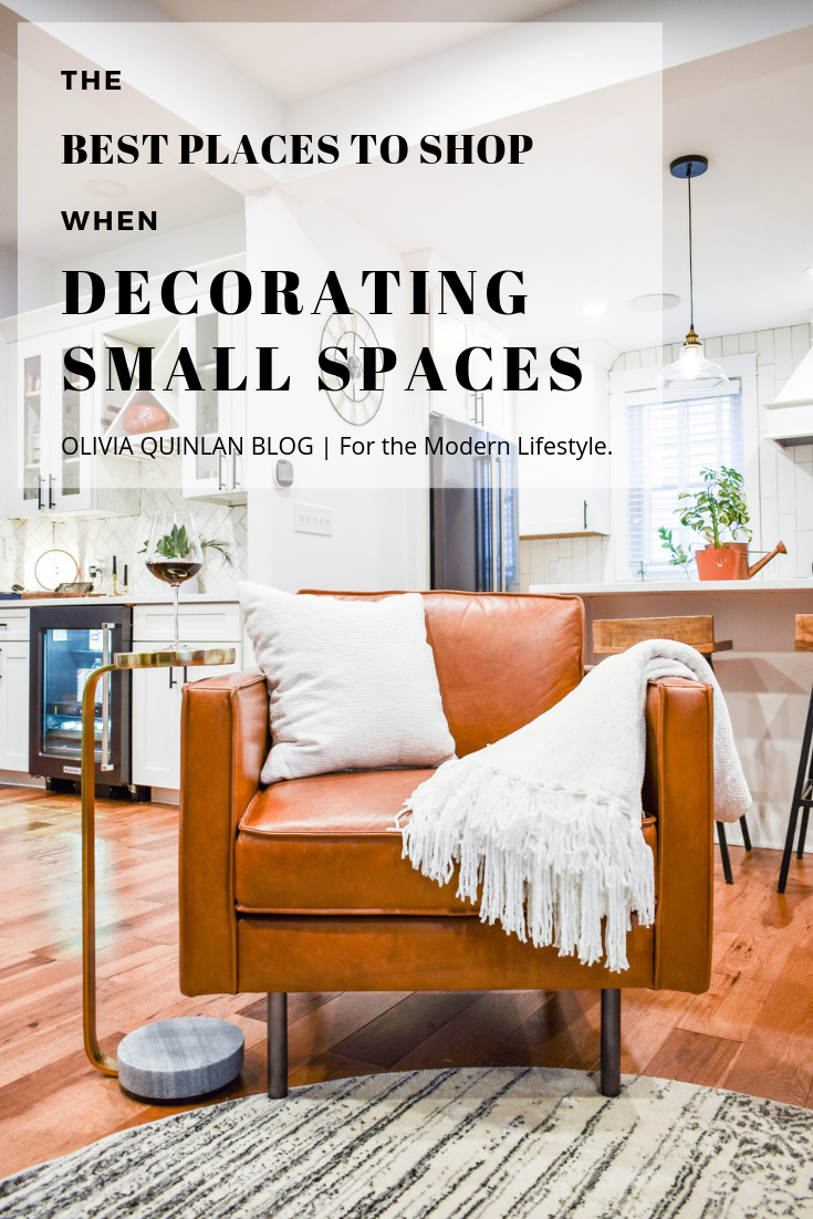 The Best Places to Shop When Decorating Small Spaces Olivia Quinlan Blog | For the Modern Lifestyle