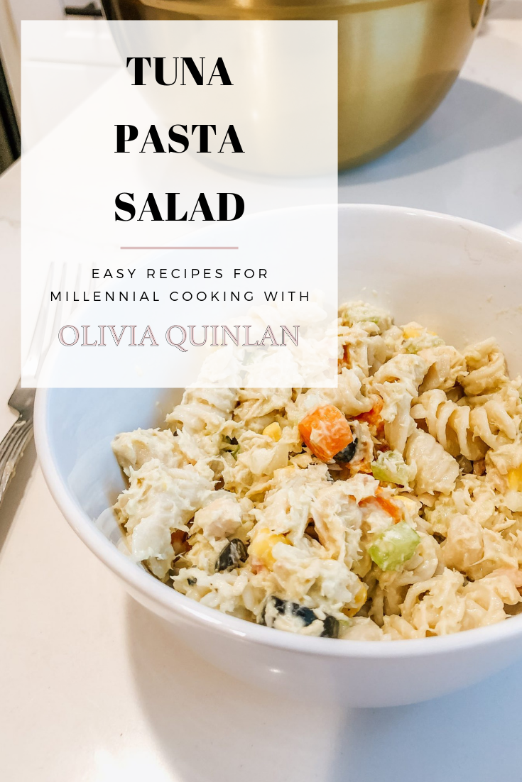 Tuna Pasta Salad Pinterest Share
