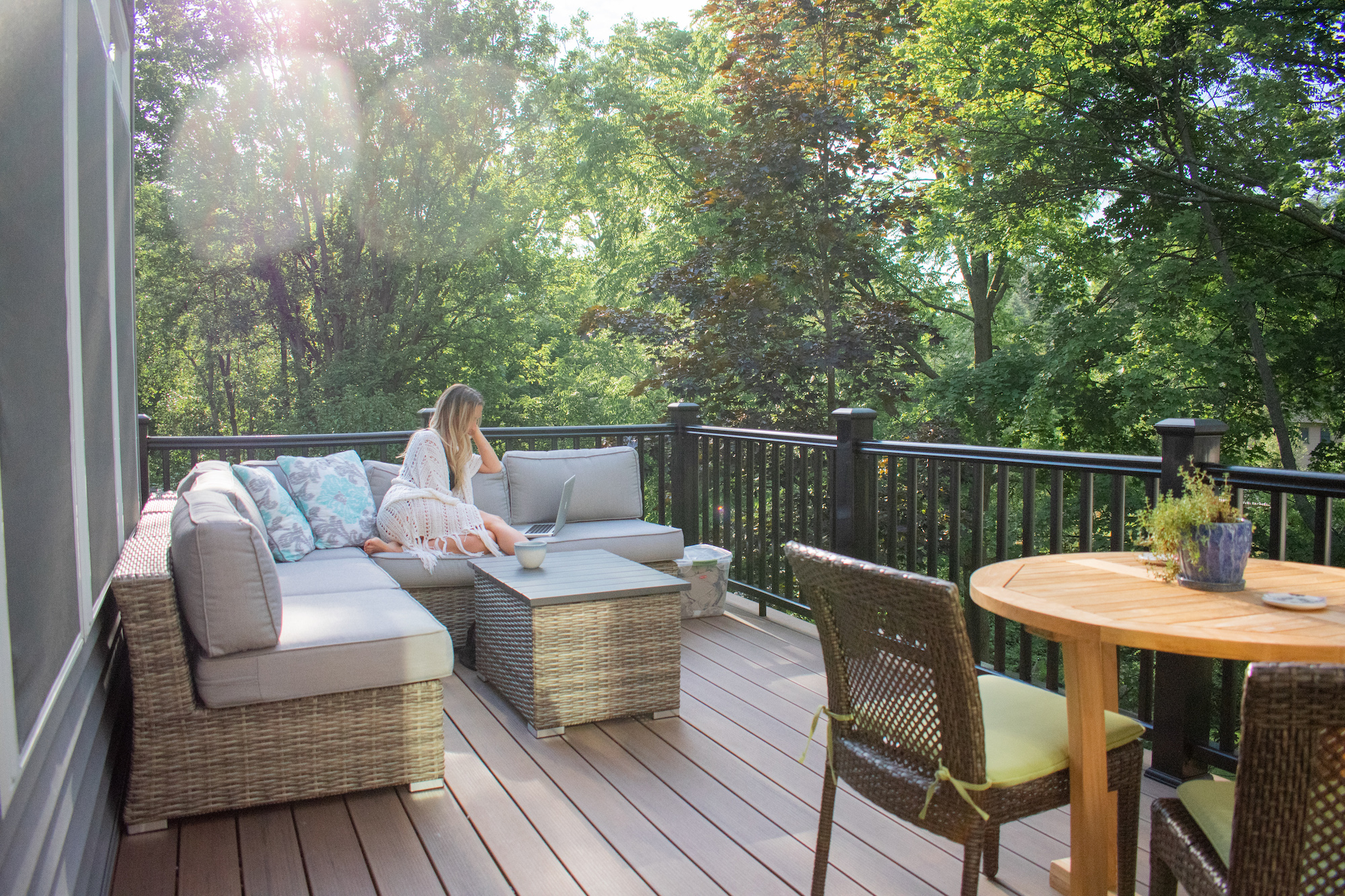 Morning Patio Home Inspiration