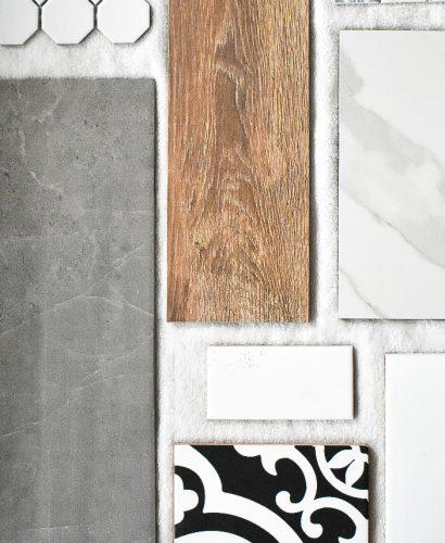 Interior Design Timeline Tile Collage