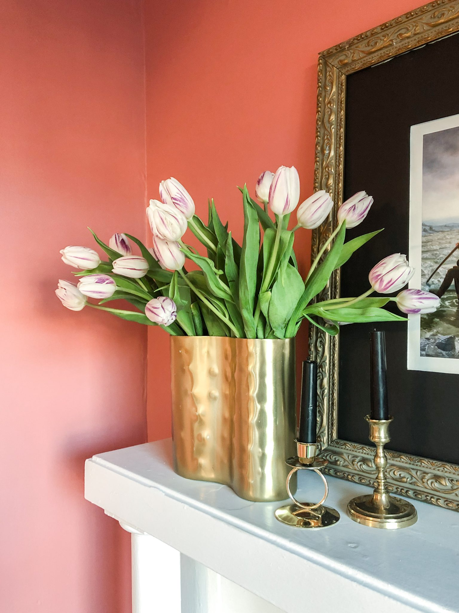 With White and Wood Olivia Quinlan Home Color Trends for Spring