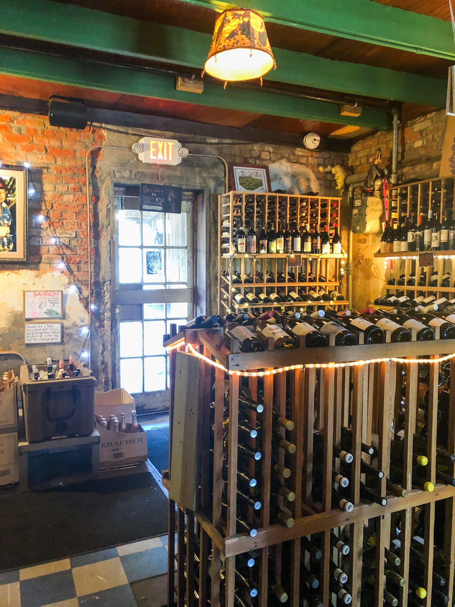 Bacchanal Wine in the Bywater District of New Orleans is a must go | Olivia Quinlan Blog