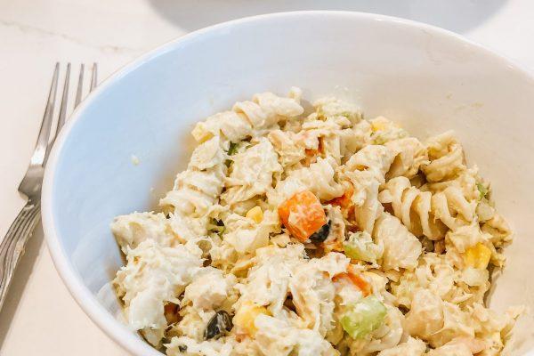 Tuna Pasta Salad - Olivia Quinlan Lifestyle Design