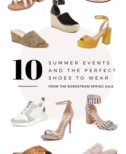 10 Summer Events and the Perfect Shoes