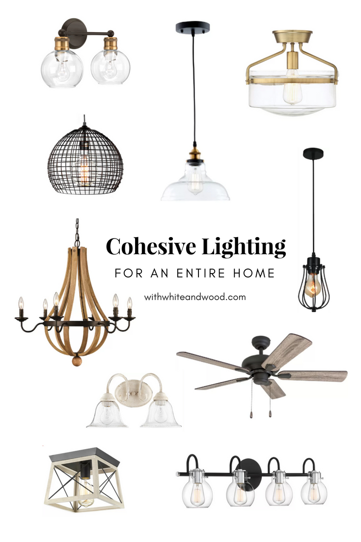 Cohesive Lighting for an Entire Home Interior Design